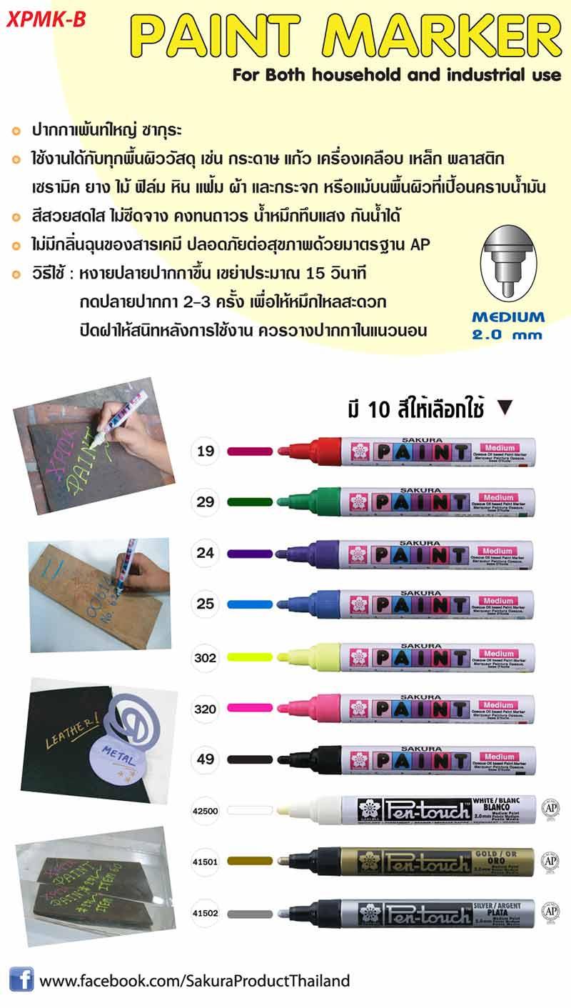 Sakura Paint Pen