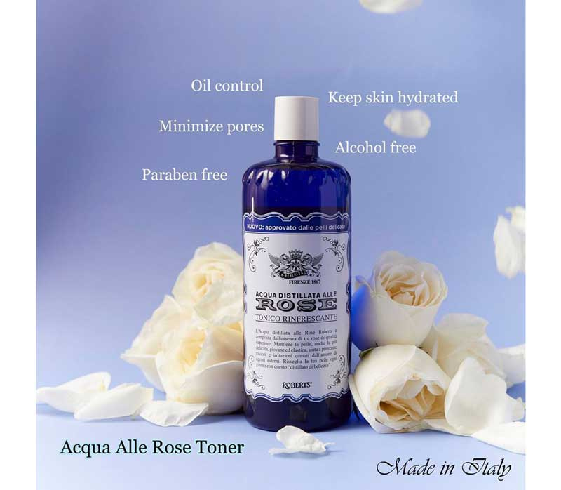 04 Acqua Distillata Alle Rose โทนเนอร์น้ำกลั่น 300 มล.