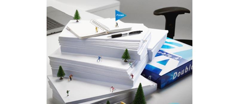 DOUBLE A กระดาษ A4 80 แกรม 500 แผ่น/รีม (5 รีม/กล่อง) 01