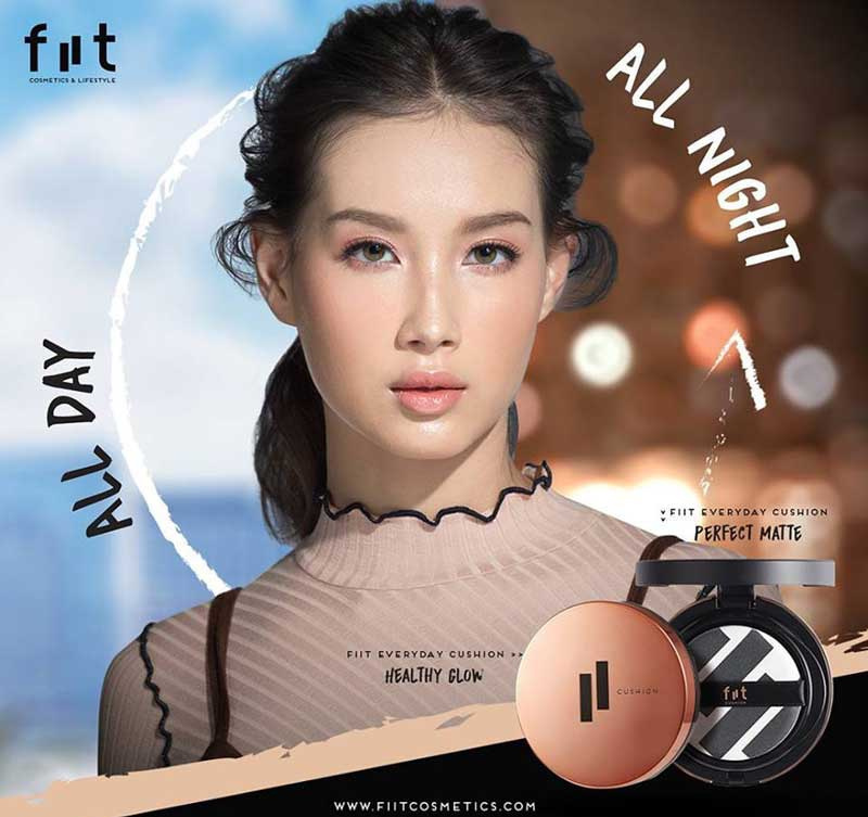 01 Fiit Everyday Cushion Healthy Glow SPF 50+ PA+++ 13g #01