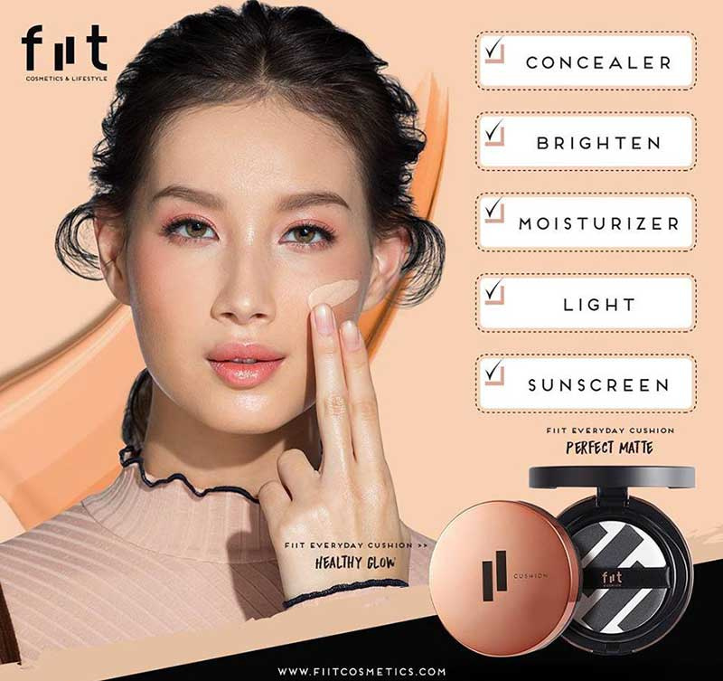 06 Fiit Everyday Cushion Healthy Glow SPF 50+ PA+++ 13g #03