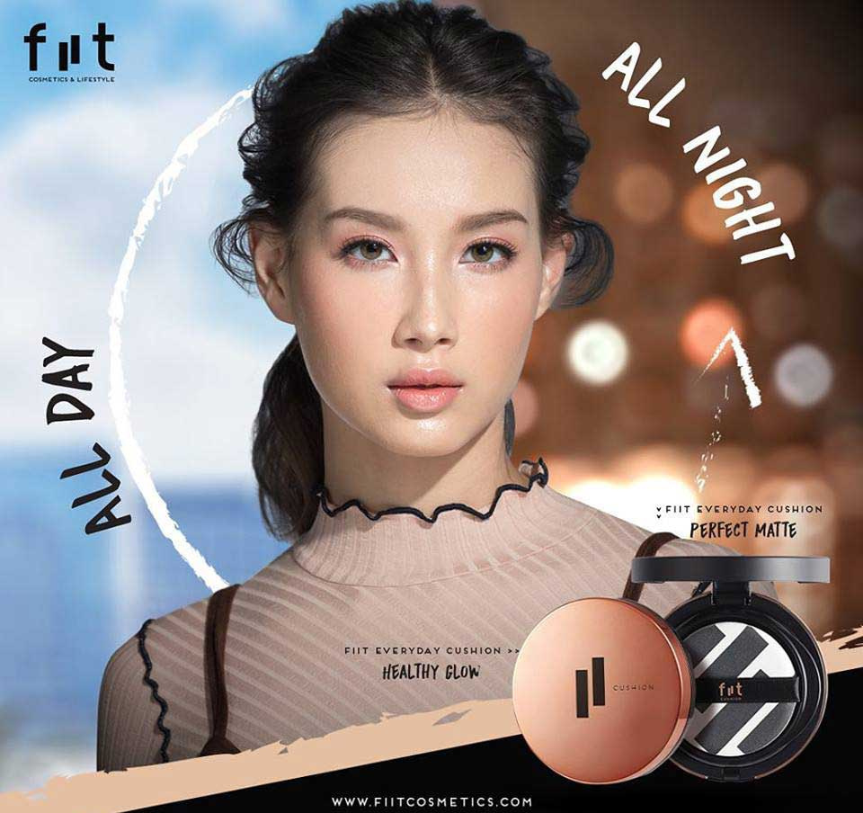 01 Fiit Everyday Cushion Healthy Glow SPF 50+ PA+++ 13g #04