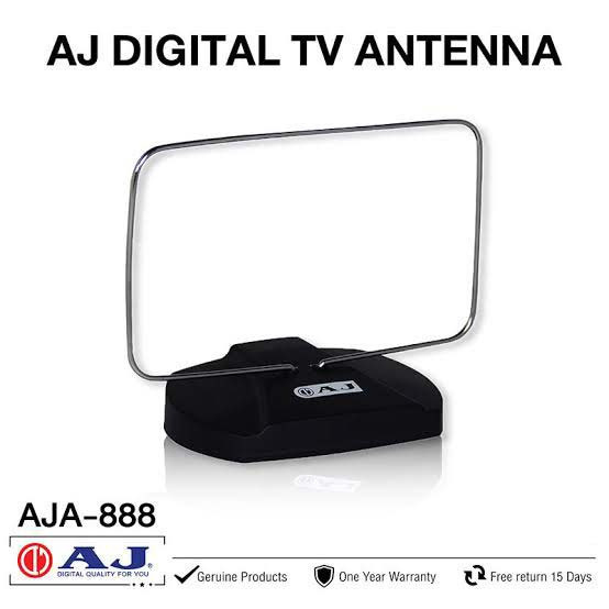 AJ เสาอากาศทีวีดิจิตอล Antenna Active รุ่น AJA-888 02