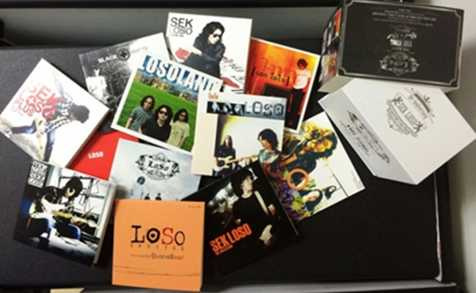 CD BOXSET SEK LOSO THE KING OF ROCK