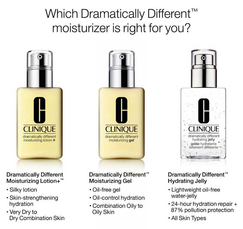 03 Clinique Dramatically Different Moisturizing Lotion 125 ml