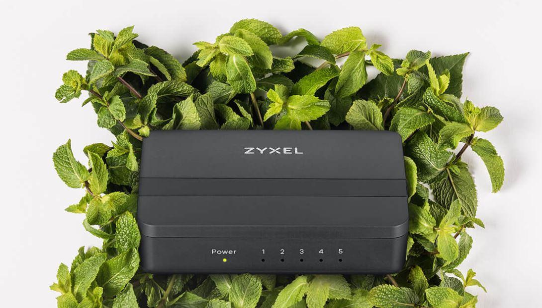 Zyxel GS-105S v2 5-Port Desktop Gigabit Ethernet Media Switch 05