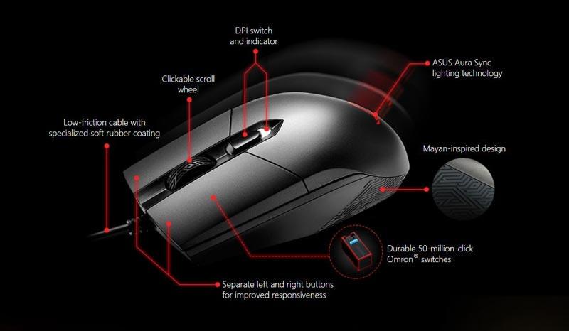 Asus Mouse P303 ROG STRIX Impact 02