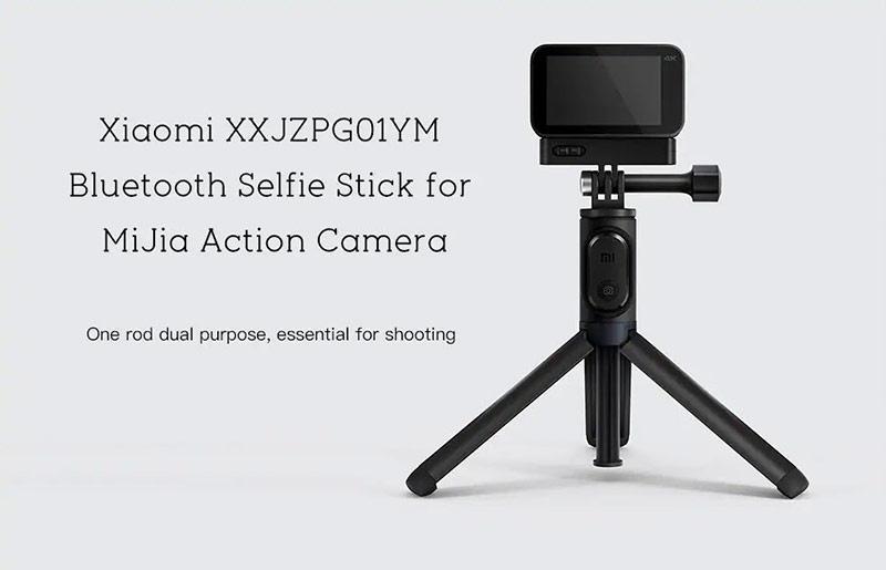 xiaomi mi action camera selfie stick