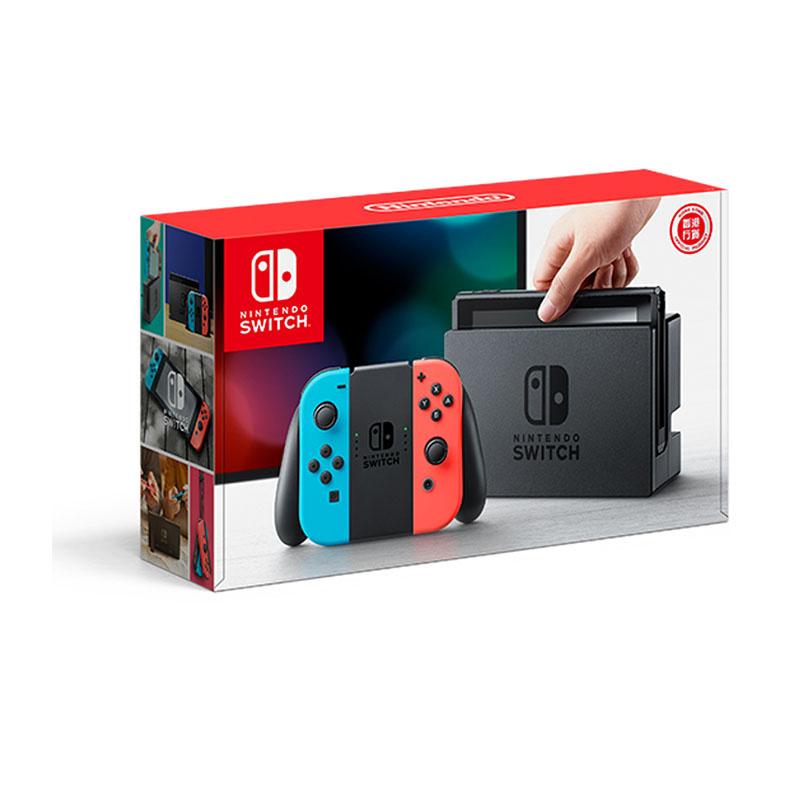 Nintendo Switch (Neon Blue / Neon Red) (HK) 04