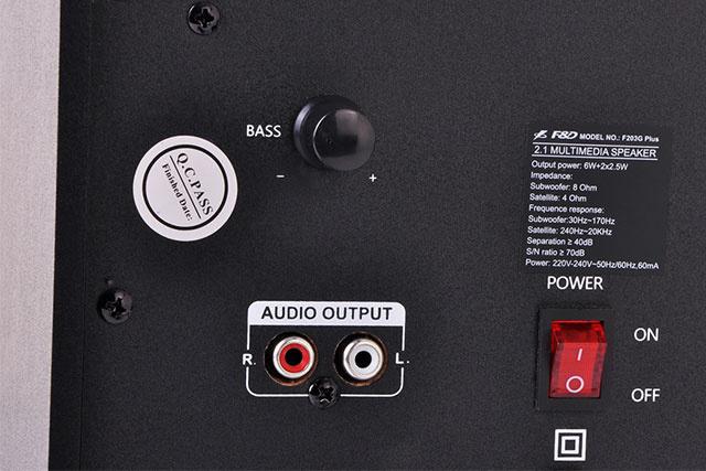 FENDA 2.1 Speaker F203 G Plus 03