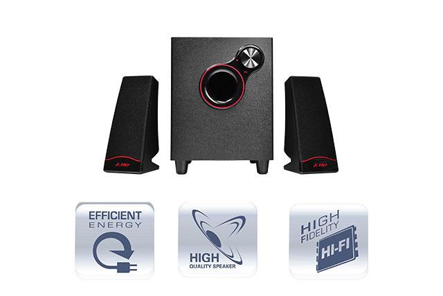 FENDA 2.1 Speaker F203 G Plus 04