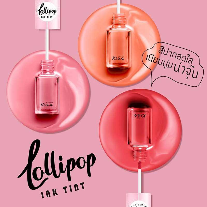 02 Malissa Kiss ลิปทิ้นท์ Lollipop Ink Tint