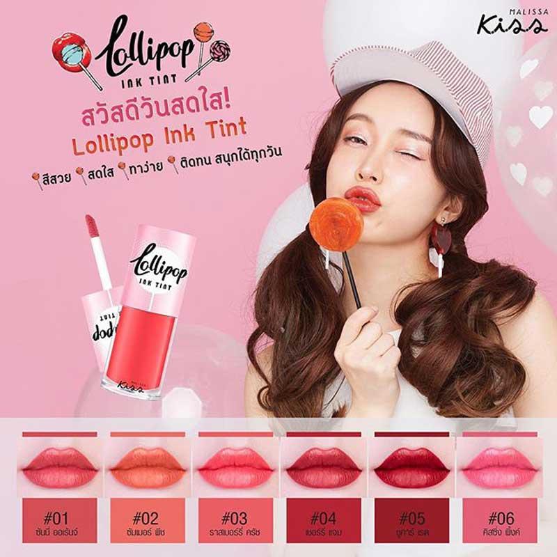 03 Malissa Kiss ลิปทิ้นท์ Lollipop Ink Tint