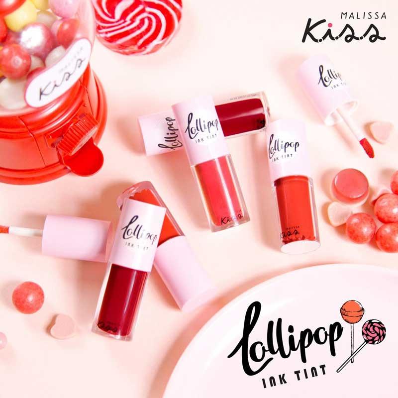 04 Malissa Kiss ลิปทิ้นท์ Lollipop Ink Tint