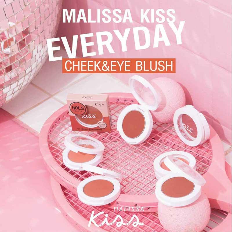 01 Malissa Kiss บลัชออน Everyday Cheek & Eye
