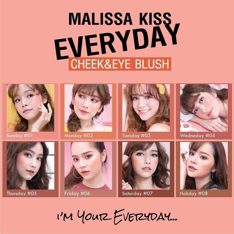 03 Malissa Kiss บลัชออน Everyday Cheek & Eye