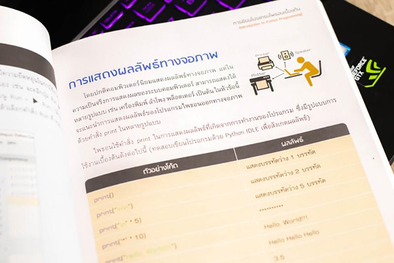 หนังสือ Basic Python coding เรียนง่ายเป็นเร็ว 05