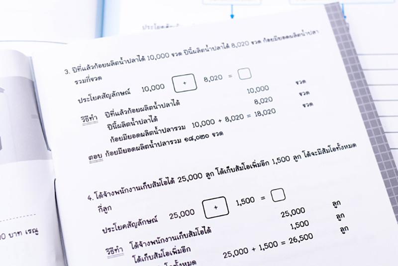 หนังสือ เก่งคิดพิชิตสอบ โจทย์ปัญหา คณิตศาสตร์ ป.4 มั่นใจเต็ม 100 08