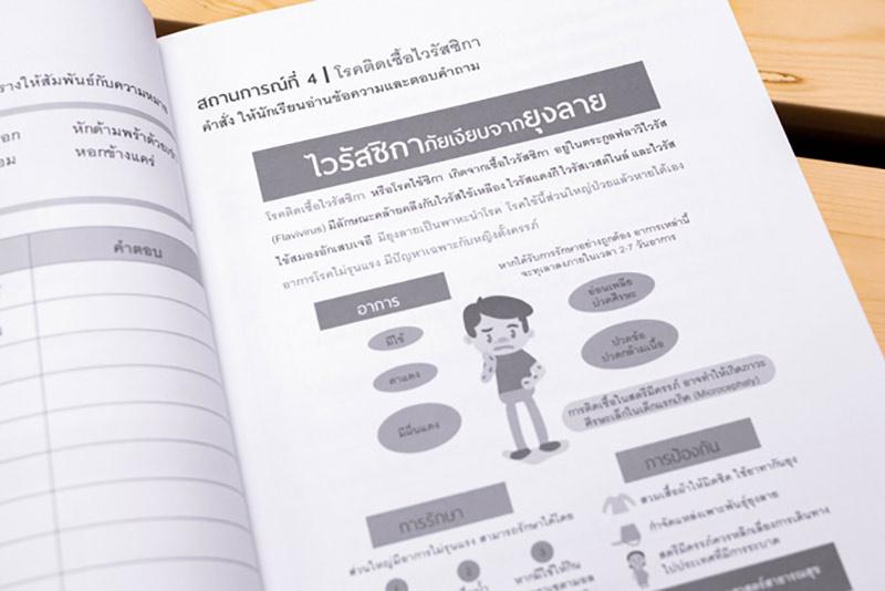หนังสือ พิชิตโจทย์แนวคิดวิเคราะห์ (คณิต ไทย อังกฤษ วิทย์) ติวเข้มแนวข้อสอบ 8 วิชา ป.4 04