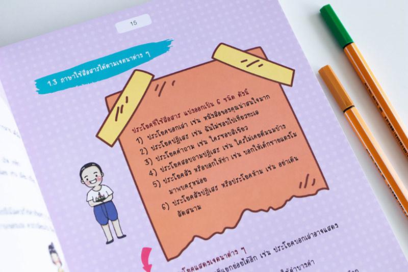 Short Note ภาษาไทย ม.ปลาย พิชิตข้อสอบเต็ม 100% ภายใน 3 วัน 06