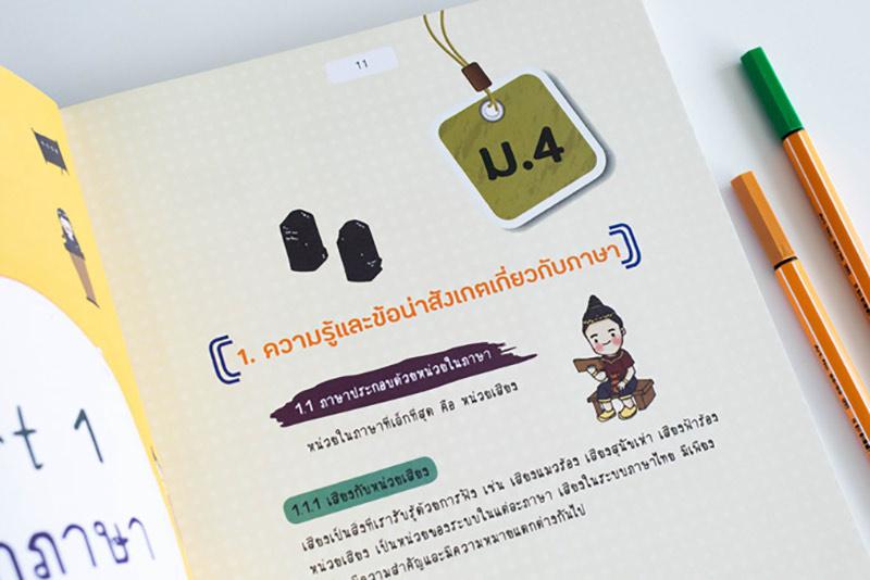 Short Note ภาษาไทย ม.ปลาย พิชิตข้อสอบเต็ม 100% ภายใน 3 วัน 07