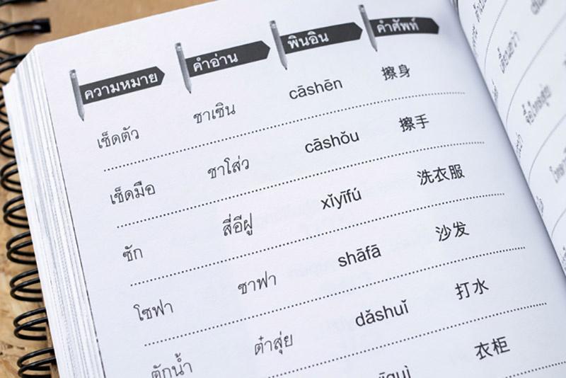 พจนานุกรมไทย - จีน สำหรับการใช้ในชีวิตประจำวัน 03