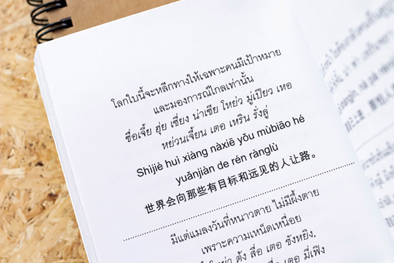 พจนานุกรมไทย - จีน สำหรับการใช้ในชีวิตประจำวัน 05
