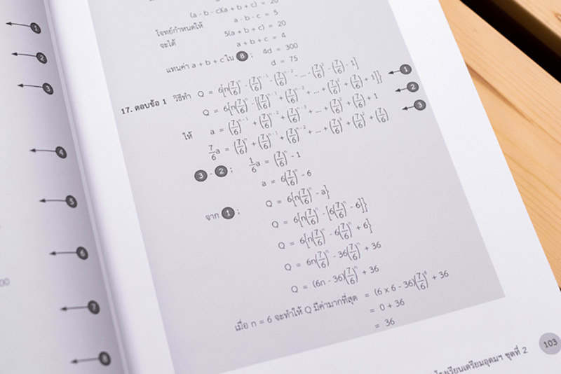 หนังสือ รวมสุดยอดโจทย์คณิต สอบเข้า ม.4 โรงเรียนเตรียมอุดมฯ 07