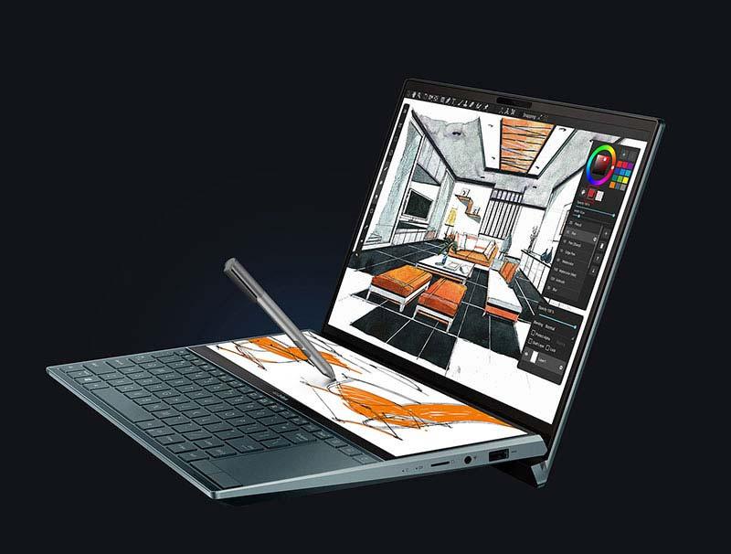 Asus notebook zenbook duo