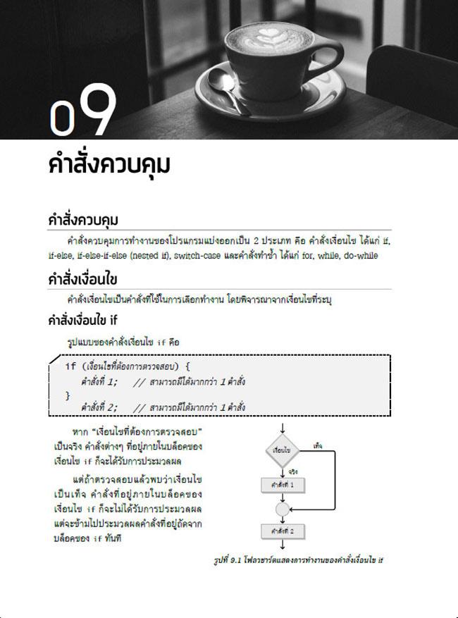 หนังสือ คู่มือเริ่มต้นเขียนโปรแกรมด้วยภาษา JAVA 09