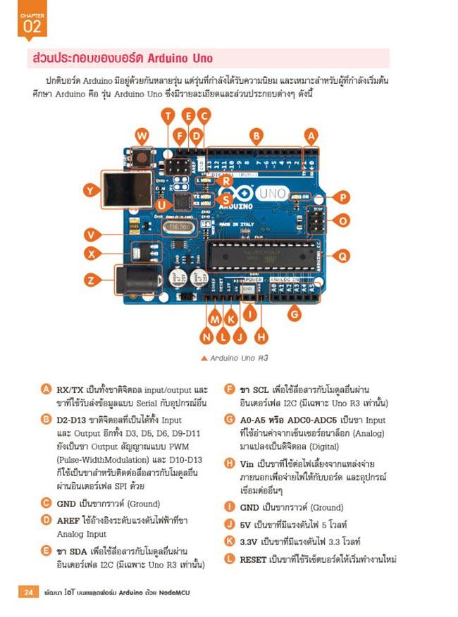 หนังสือ พัฒนา IOT บนแพลตฟอร์ม Arduino ด้วย NodeMCU 10