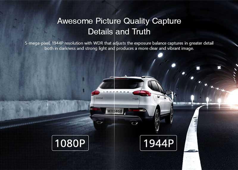 Xiaomi กล้องติดรถยนต์ รุ่น 70Mai Pro