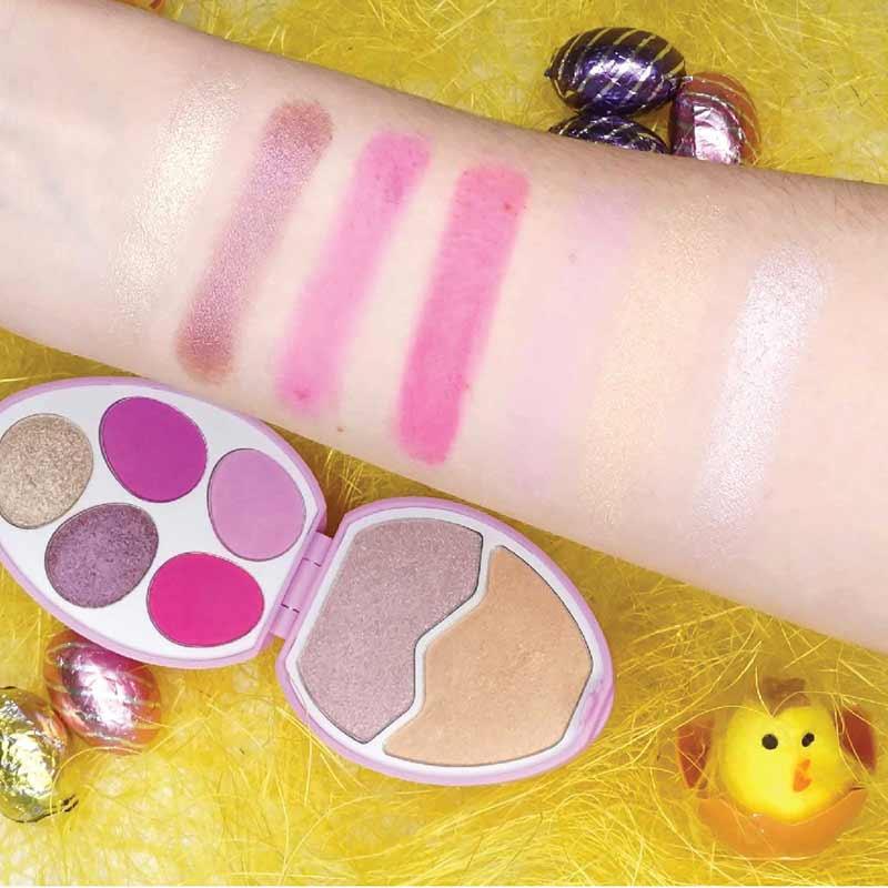 02 Makeup Revolution พาเลทแต่งหน้า I Heart Egg