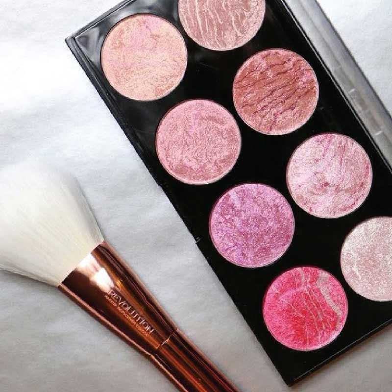 01 Makeup Revolution บลัชออน Palette