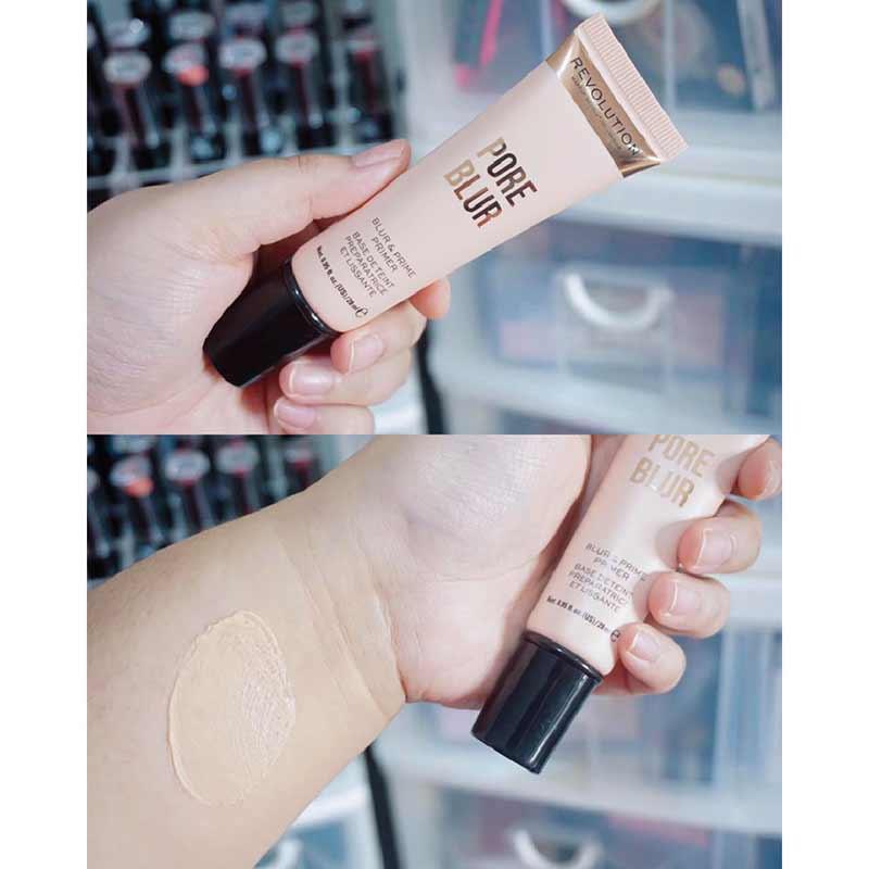 01 Makeup Revolution ไพรเมอร์ Pore Blur & Prime 20 กรัม