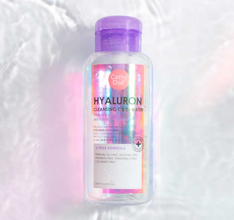 07 Cathy Doll Hyaluron Cleansing Oil in Water 500ml