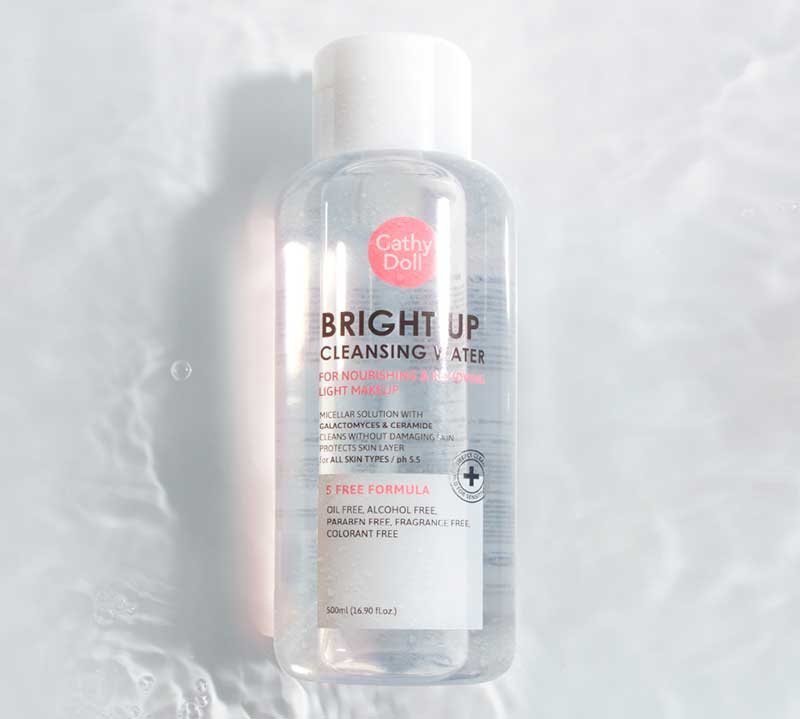 07 Cathy Doll Bright Up Cleansing Water 500ml