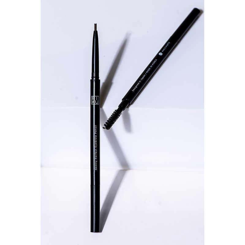 01 RIKU ดินสอเขียนคิ้ว Skinny Perfect 0.1 กรัม