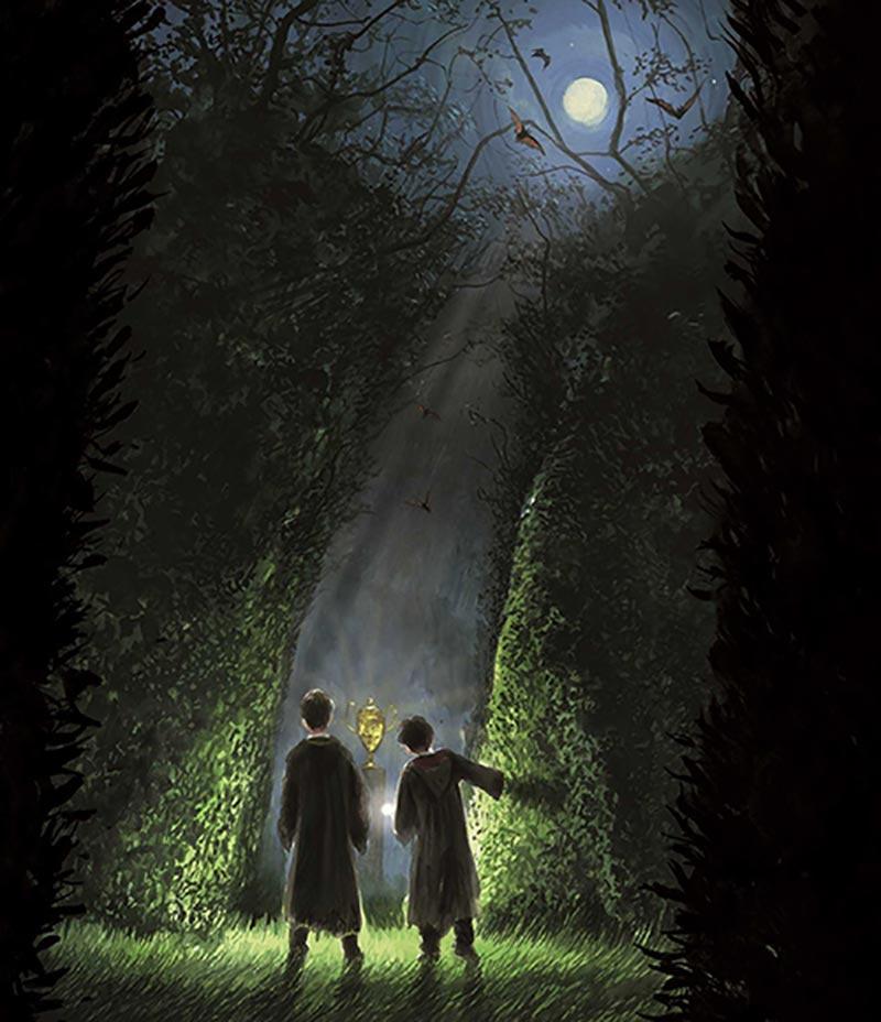 หนังสือ แฮร์รี่พอตเตอร์ กับถ้วยอัคนี ฉบับภาพประกอบ 4 สี 01