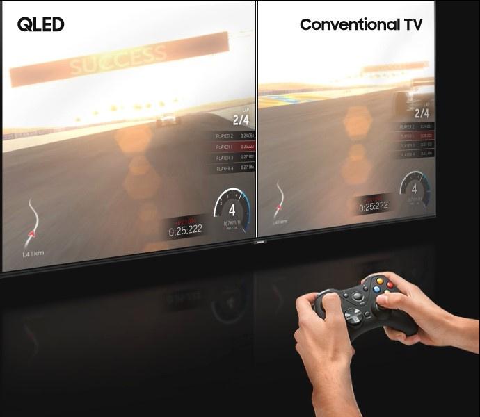 SAMSUNGTV UHD QLED ขนาด 55 นิ้ว 4K Smart รุ่น QA55Q60RAKXXT