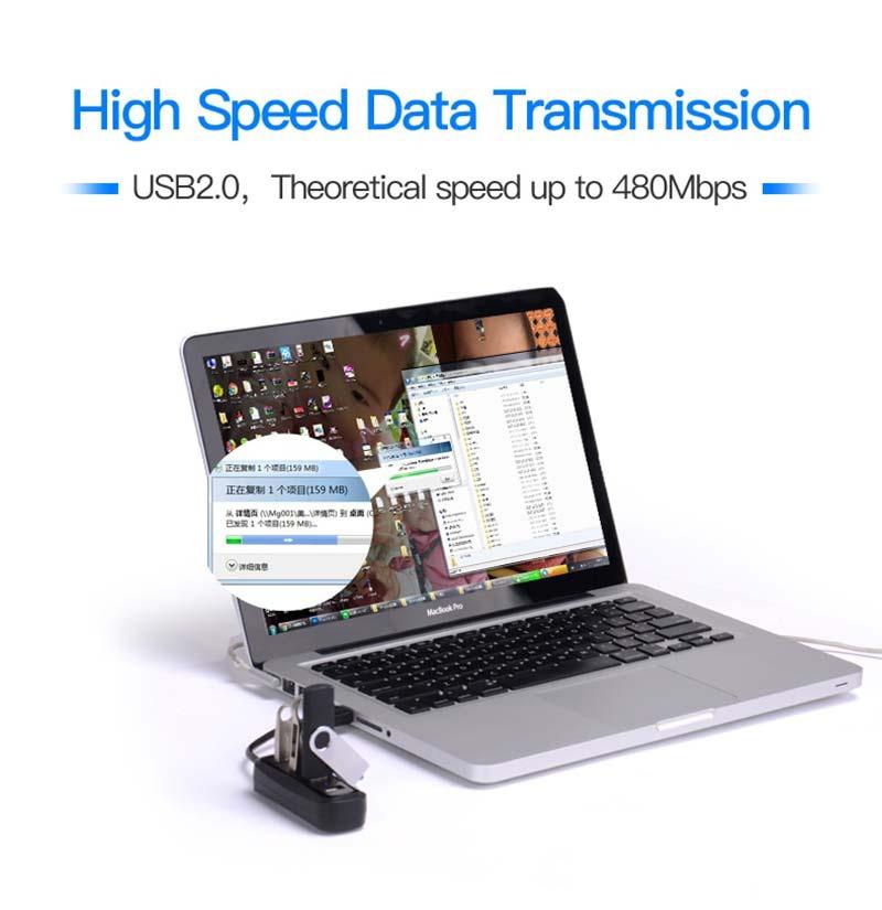 Vention 4 Ports USB 2.0 Hub 0.5 M.