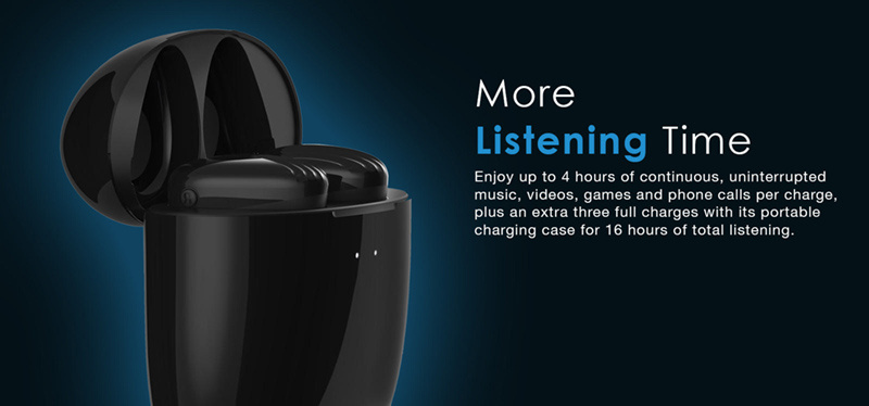 Nuforce หูฟังบลูทูธแบบ True Wireless รุ่น BE Free 8