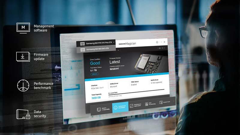 Samsung SSD 970 EVO PLUS M.2 PCIe