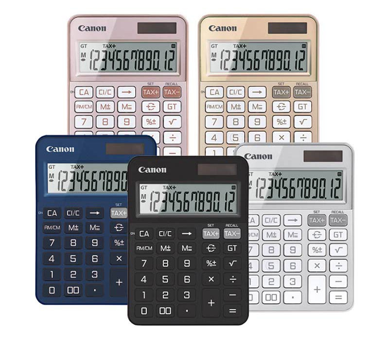 Canon Desktop Calculator รุ่น KS-125T