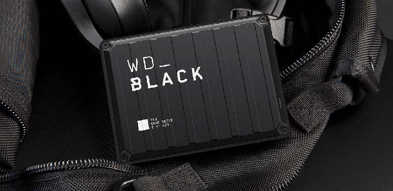 WD External HDD Black P10 Game Drive 2TB PS4 Xbox Window macOS