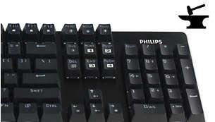 Philips คีย์บอร์ดเกม SPK8614 Gray Punk
