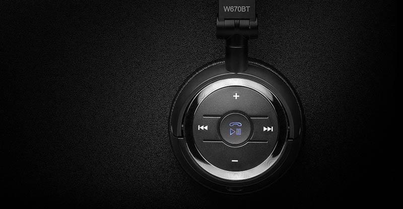 Edifier หูฟังบลูทูธแบบครอบหู รุ่น W670 BT