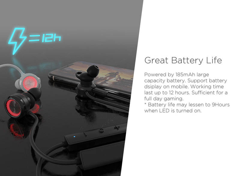 Edifier หูฟังบลูทูธสำหรับเล่นเกม รุ่น GM3