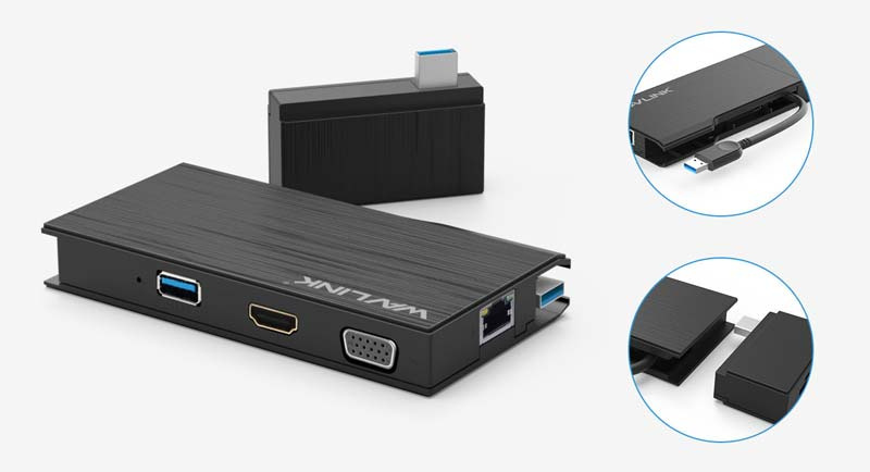 Wavlink รุ่น WL-UG39DH2 USB3.0 Full HD Travel Mini Dock