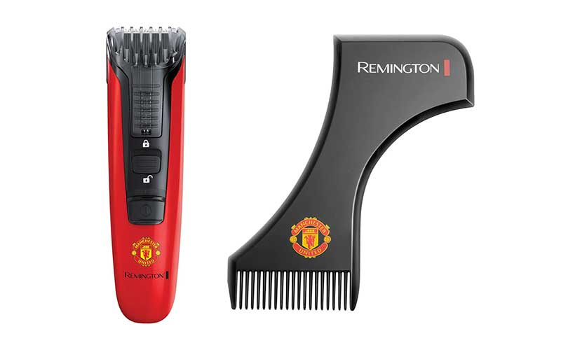 03 Remington อุปกรณ์ตกแต่งหนวดเครา Boss Beard Trimmer Manchester United Edition (MB-4128)